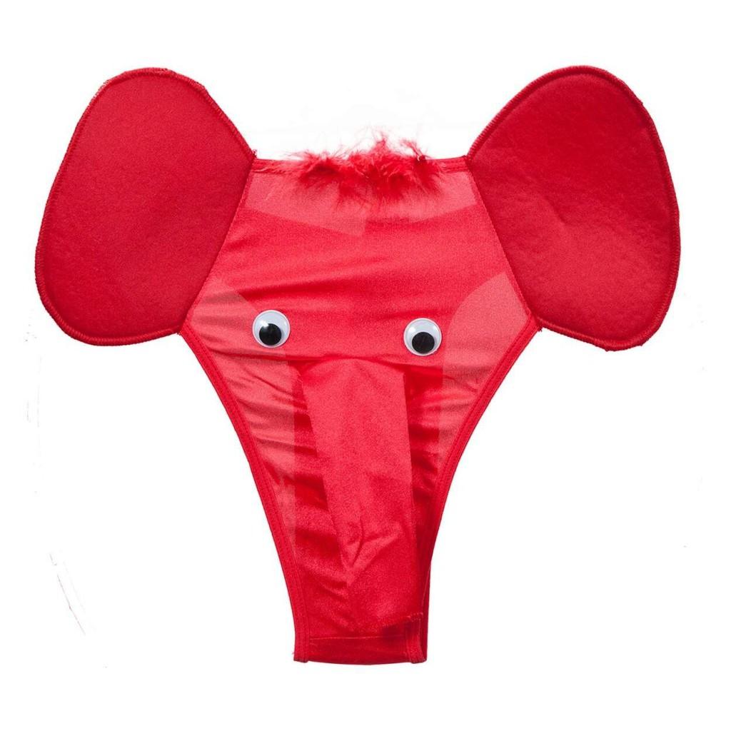 Cueca Sexy Tromba de Elefante - Cueca Erótica | Shopee Brasil