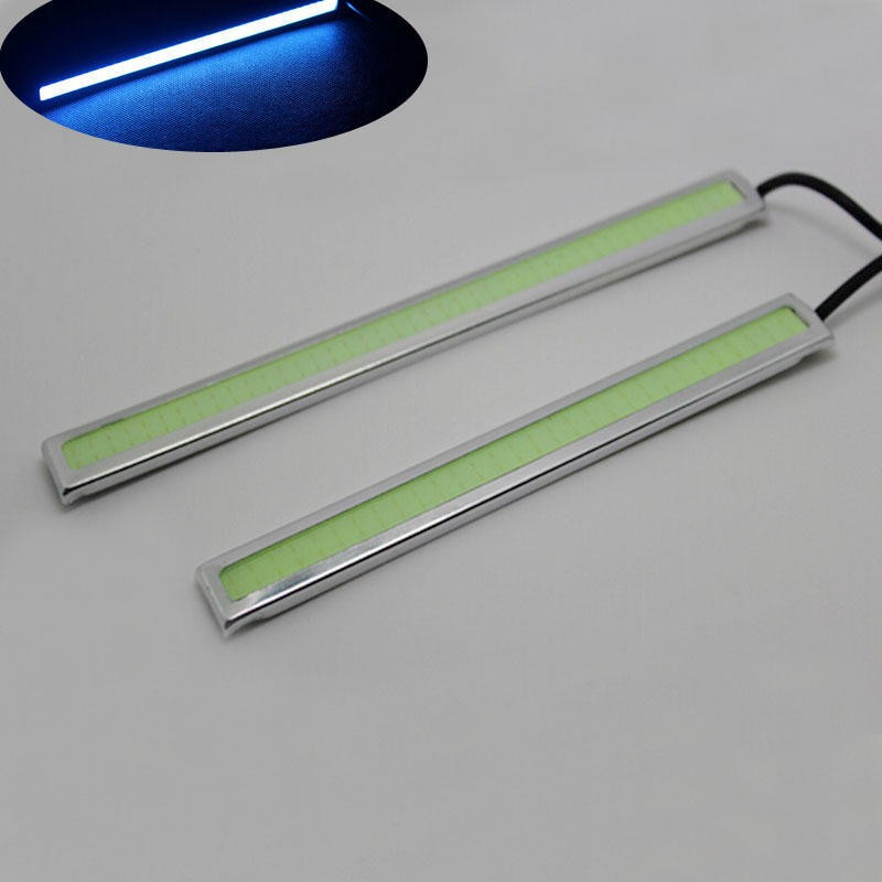 Waterproof 17cm Car LED COB Strip Light DRL Fog Light Driving Run White Lamp Acc