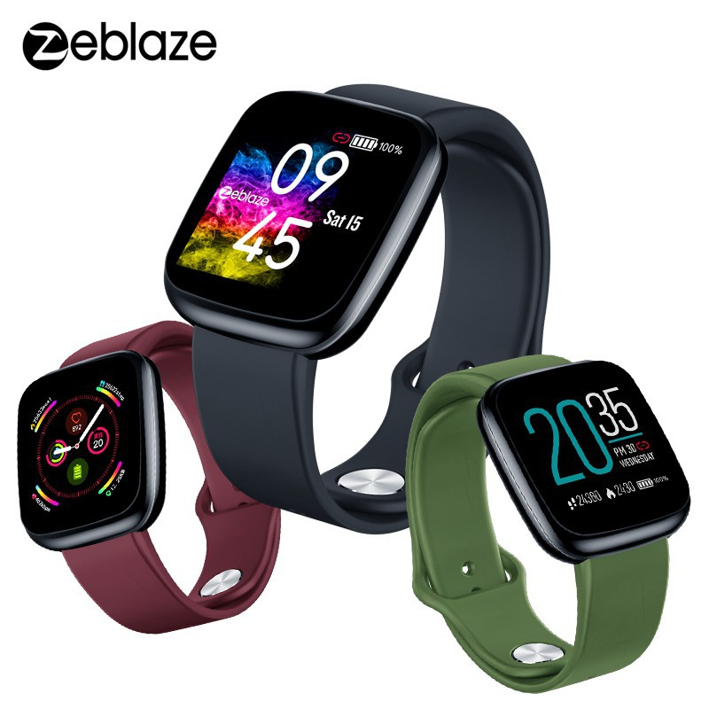 Zeblaze Crystal 3 Smartwatch Homens Mulheres Waterproof Heart Rate Color Screen Bluetooth Smart Watch | Shopee Brasil
