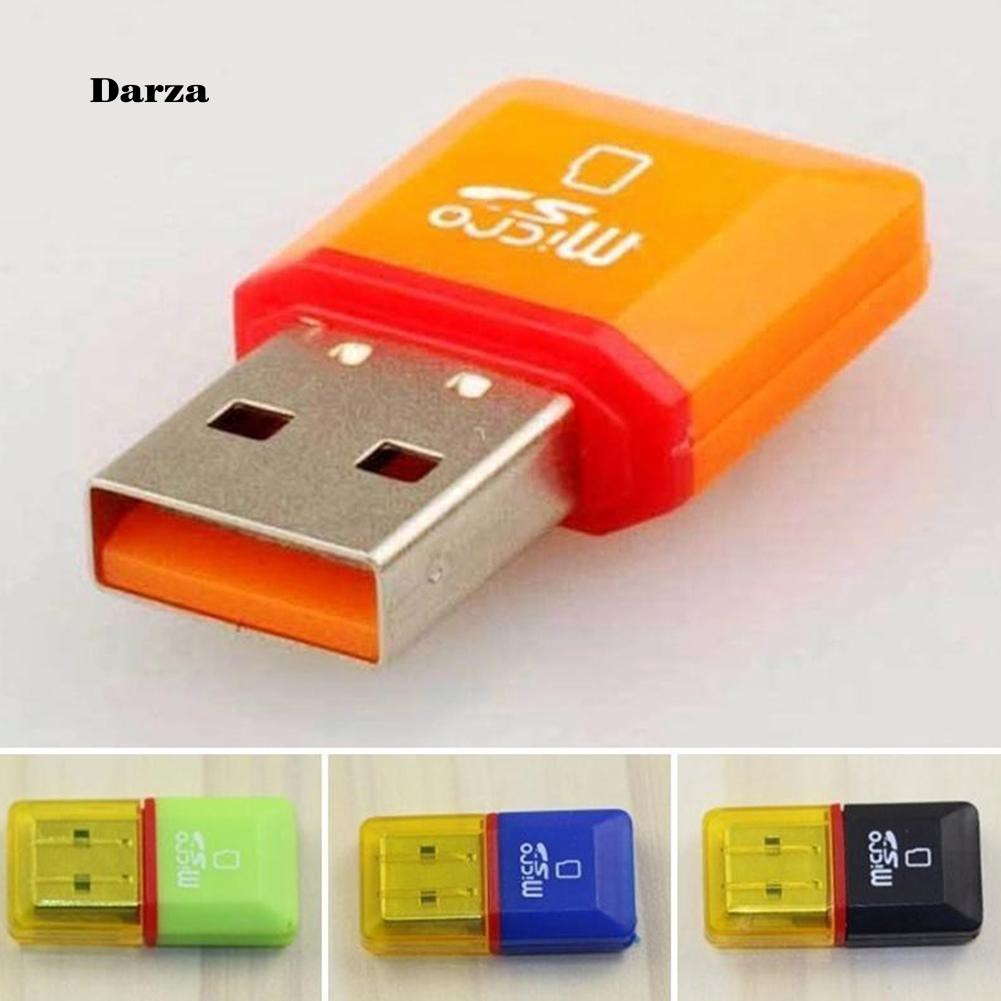 Micro SD TF T-Flash Card to USB2.0 Adapter Reader Convert Interface SDHC SDXC PC