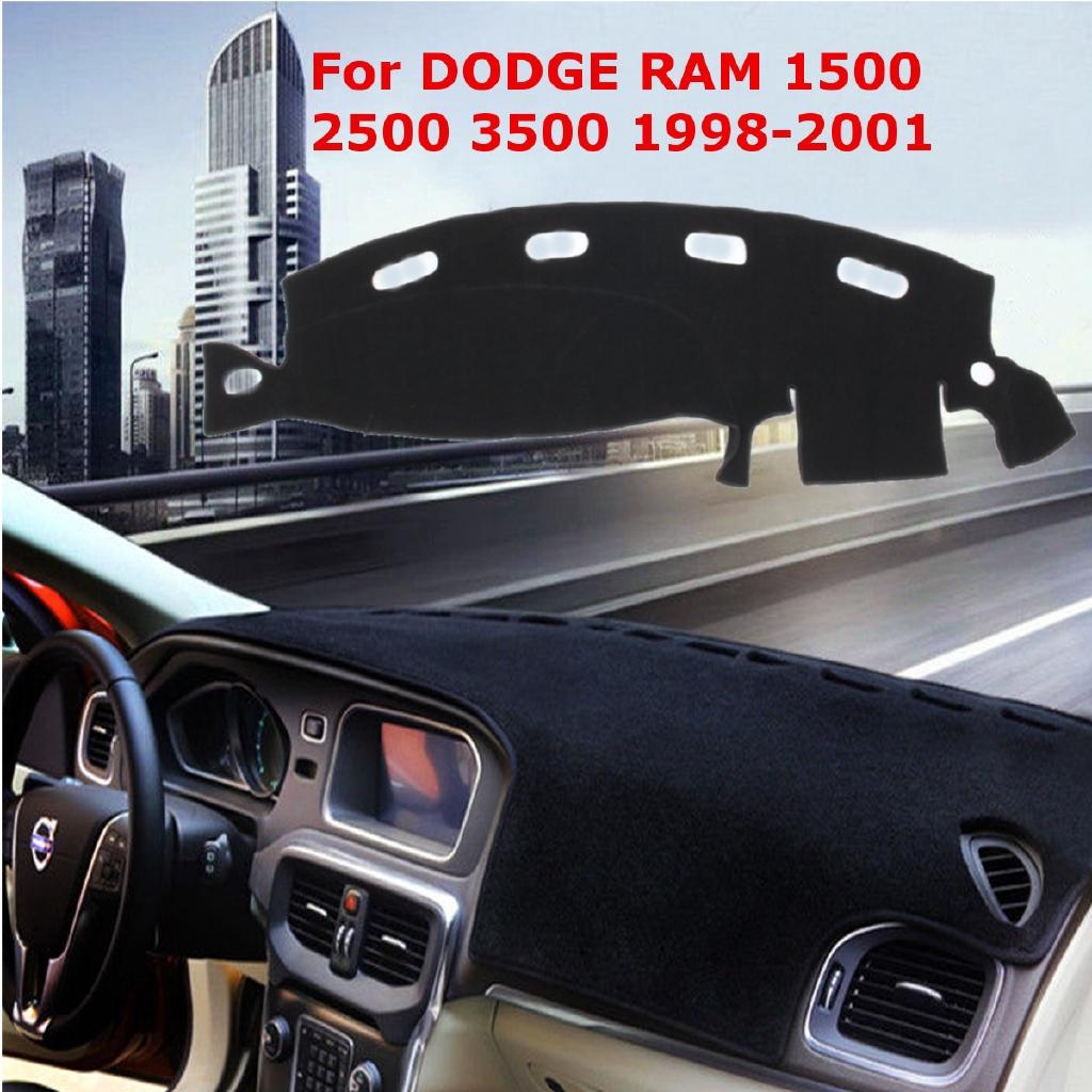 Dashmat For DODGE RAM 1500 2500 3500 1998-2001 Dash Cover Carpet Dashboard Mat