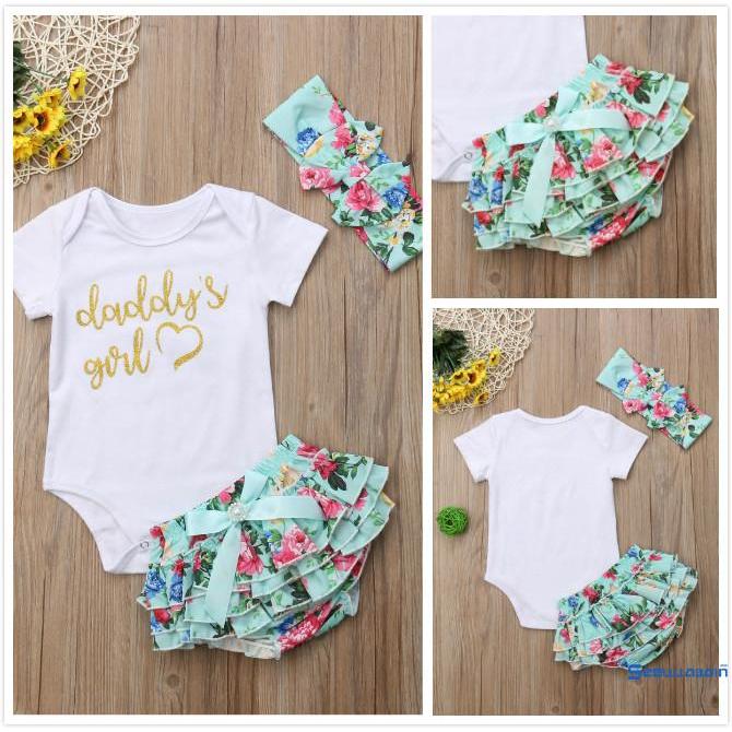 3Pcs Natal Bebê Crianças Bebê Menina Roupas De Inverno Tops Conjunto roupas calças longas