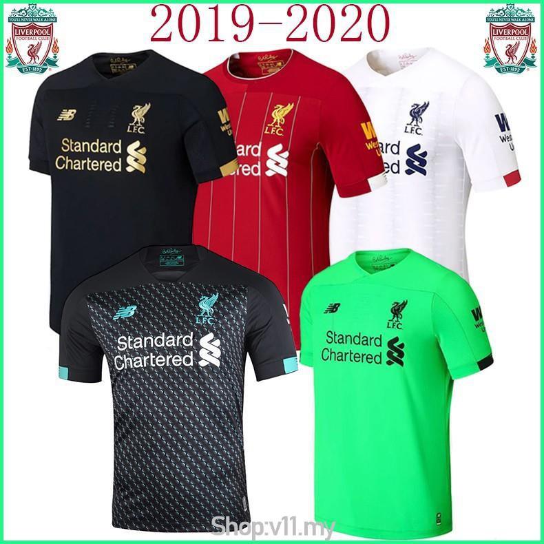 Camisa Do Liverpool 2019 20 3º Uniforme Otima Qualidade Shopee Brasil