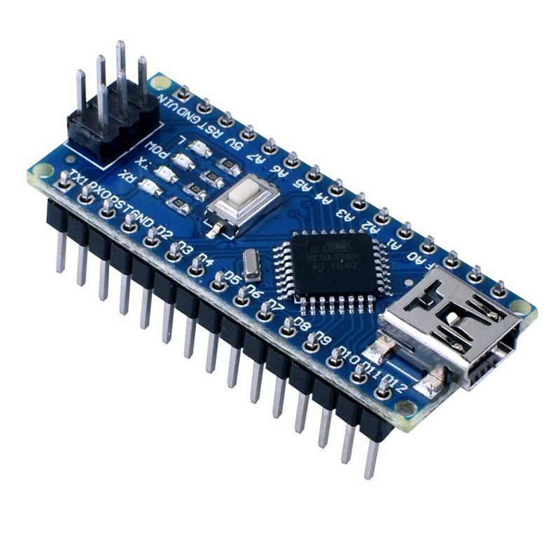 5PCS Nano V3.0 USB ATmega328P-AU 16MHz 5V Micro-Controller CH340G for Arduino