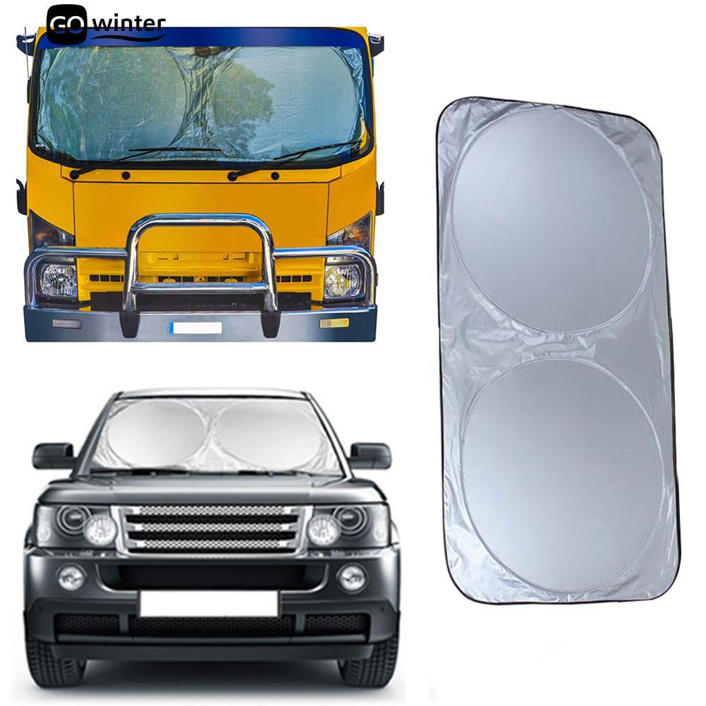 Janela frontal dobrável Sun Visor SUV pára-brisa Caminhão Carro Protetor Solar Parasol