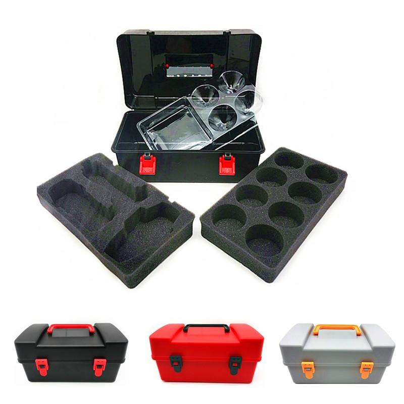 8Pcs Gyro Beyblade Burst Conjunto Com Lançador Grip Estojo Caixa de armazenamento portátil Brinquedos Top