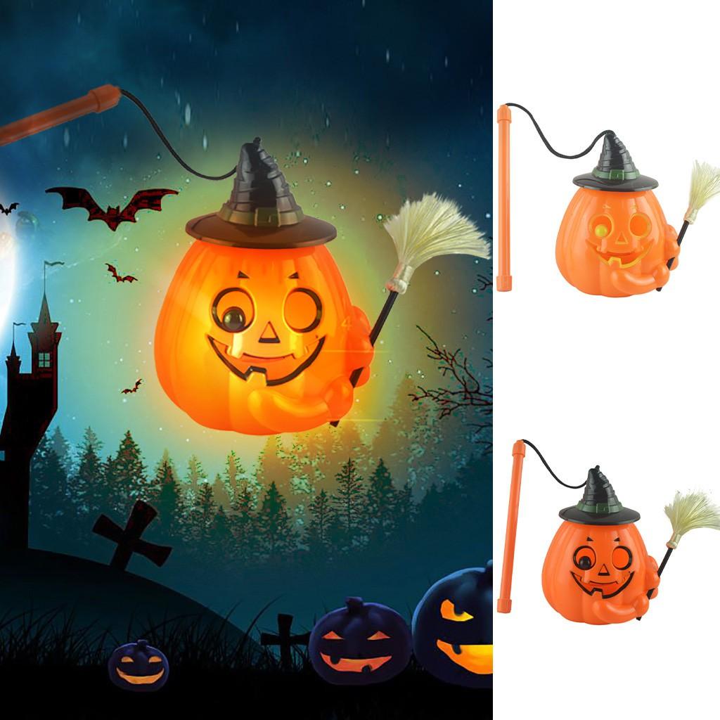 Pydsnr Glowing Ghost Screaming Pumpkin Lights Halloween Pumpkin Lantern Shopee Brasil
