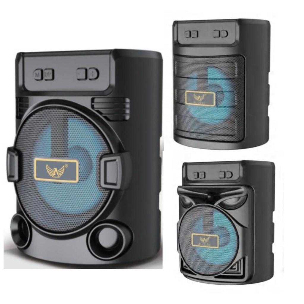 Caixa de Som Bluetooth Portátil com cartão SD Rádio FM Pen Drive Altomex   Shopee Brasil