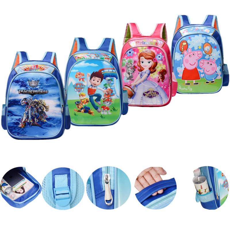 Paw Patrol Little Boys Cute Blue PreK School Lunch Box Book Bag Set Kids Gift