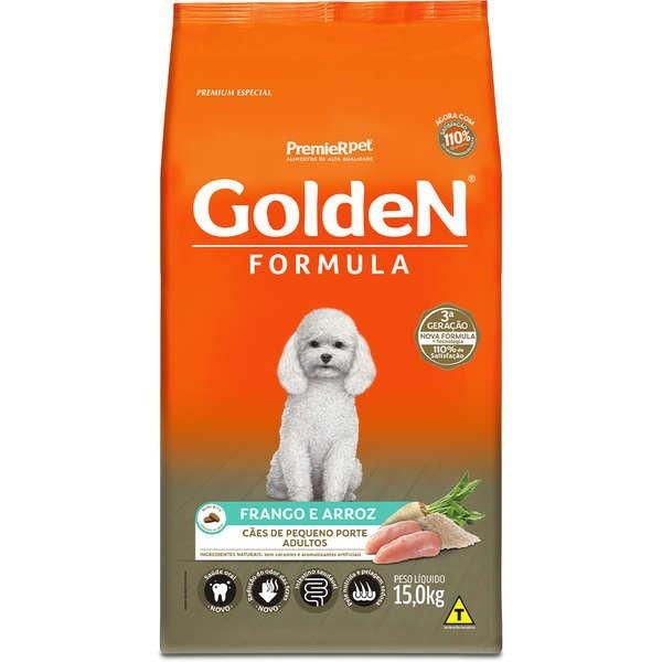 Ração Golden Formula para Cães Adultos Mini Bits Porte Pequeno Frango