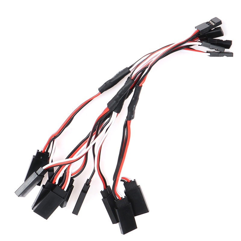 Details about  /5Pcs 15cm Y Style Servo RC Extension Lead Wire Cord Cable For JR FutabaLD*BACA