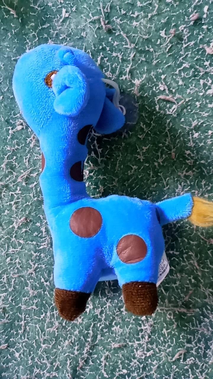 girafa de pelucia