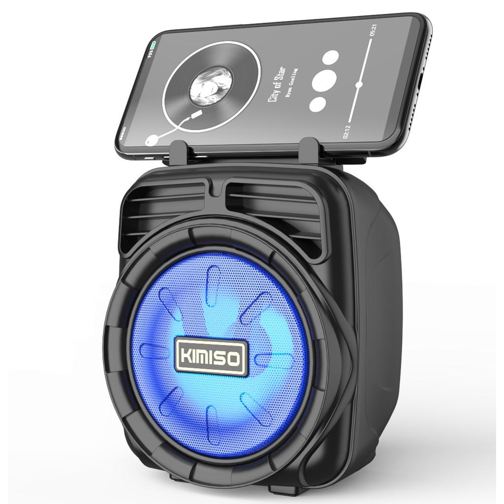 Caixa De Som Portátil Wireless Bluetooth Kimiso Original - VERMELHO   Shopee Brasil