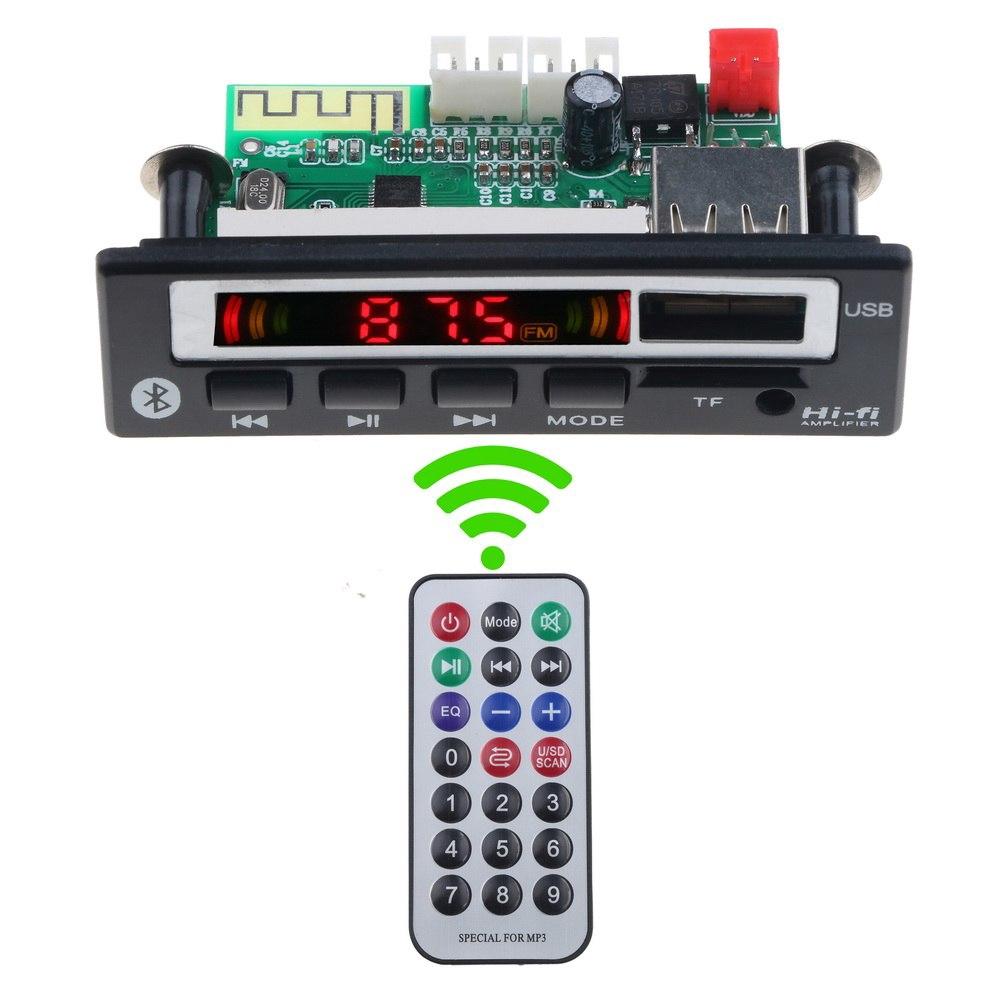 6-12V MINI MP3 Decoding Module WAV Decoder Board Dual Channel For Audio Player
