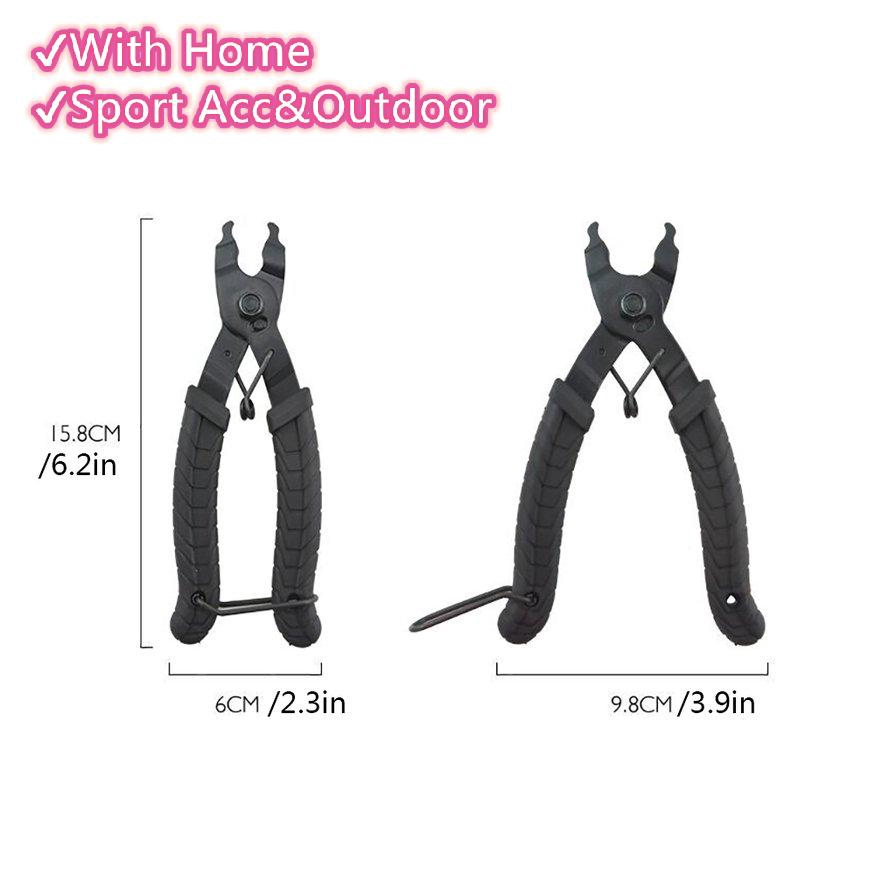 KMC Missing Link Connector Opener Quick link Pliers-Black-Bicycle Chain Tool