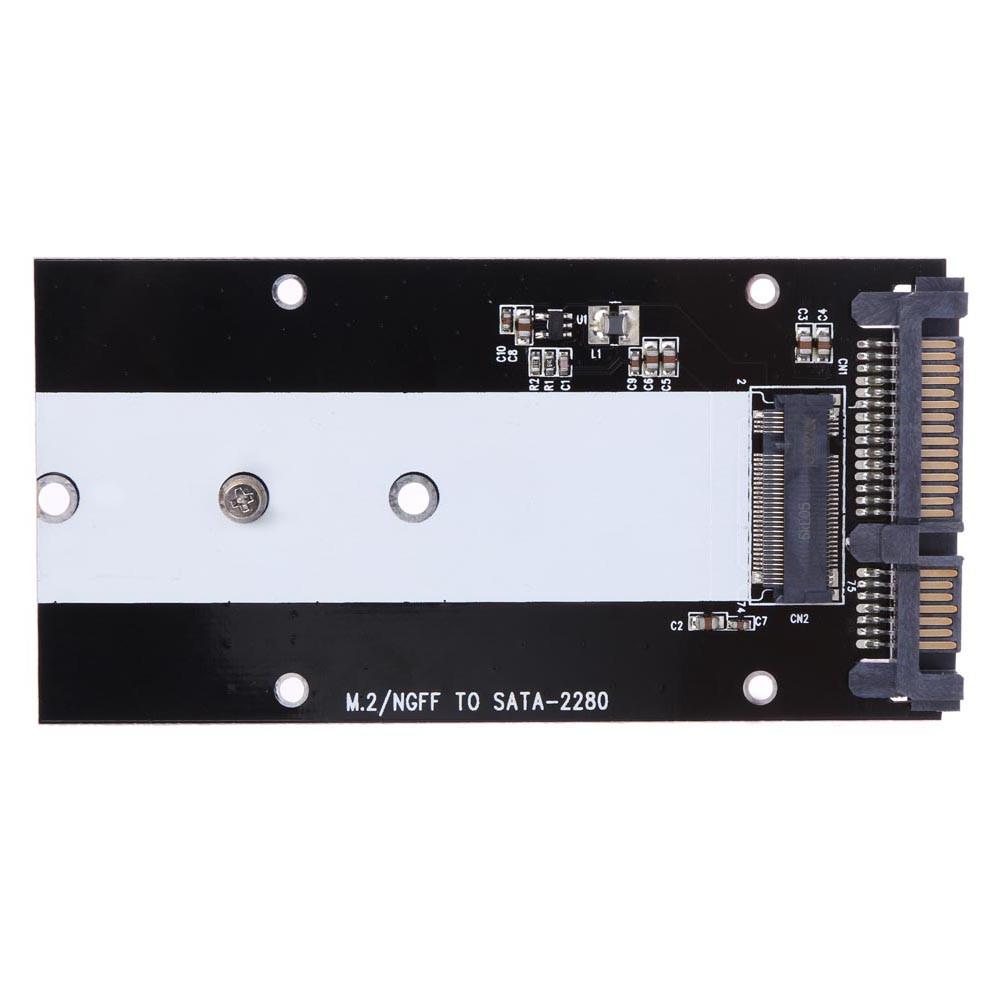 "SSD to 2.5/"" SATA Adapter M.2 NGFF SSD to SATA3 Convert Card M2 5PCS NGFF"
