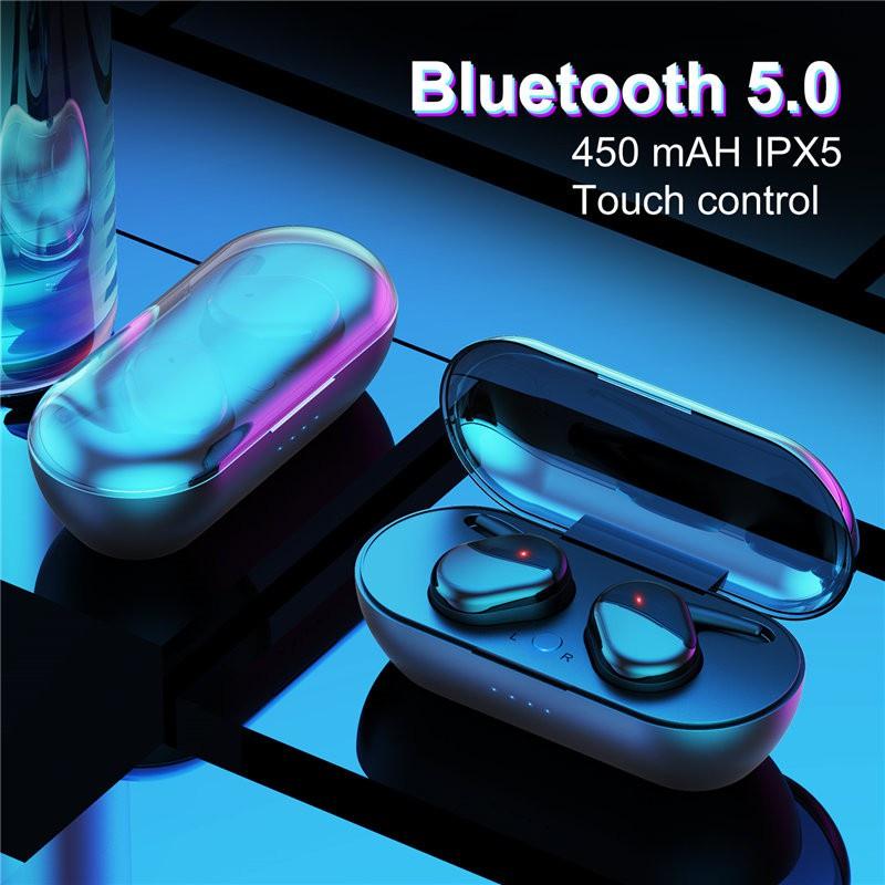 Fone de Ouvido Y30 TWS Esportivo com Bluetooth 5.0 Com Headset Estéreo sem Fio para Uso Externo! | Shopee Brasil