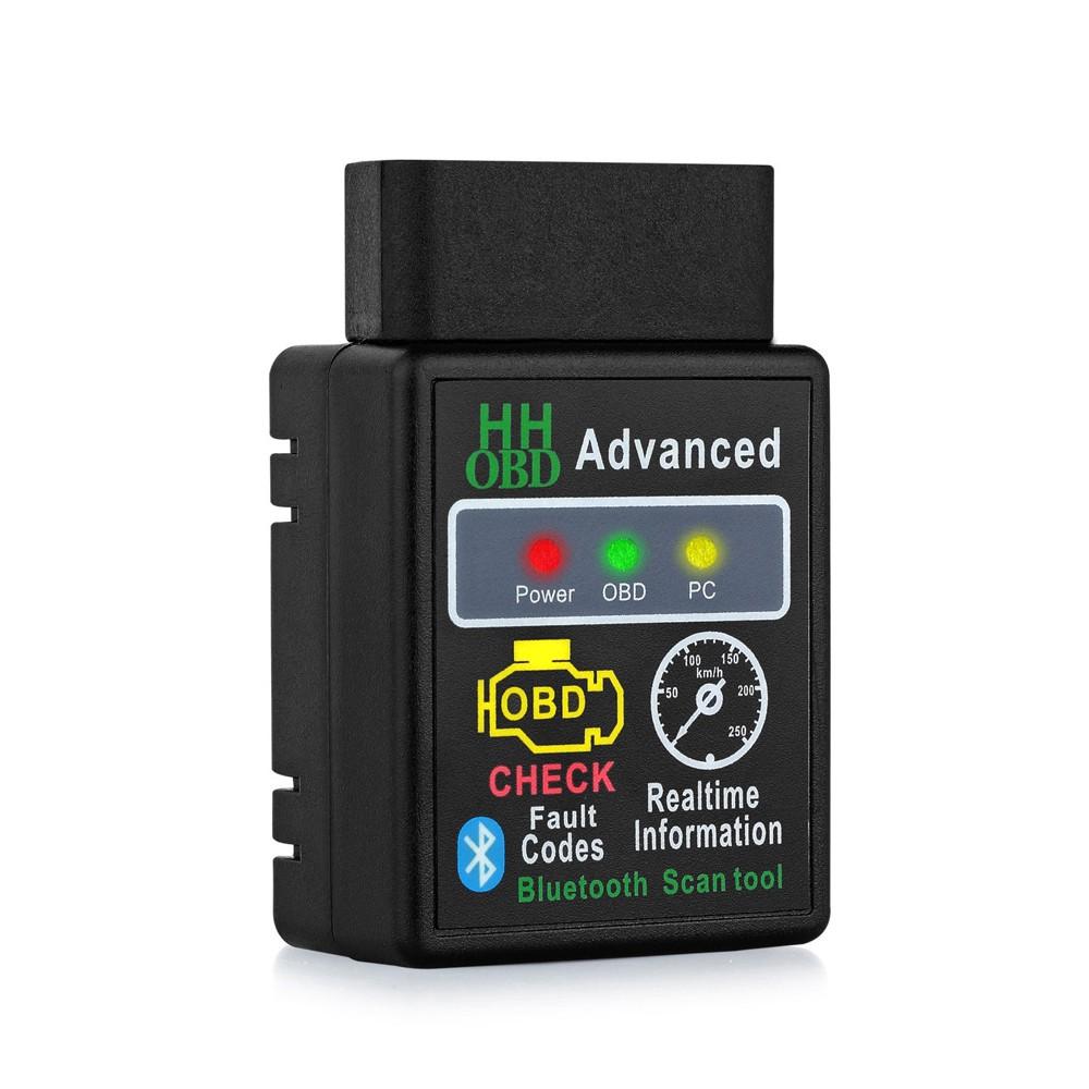 Scan Tool Bluetooth Adapter Interface Car Diagnostic Scanner ELM327 OBD2 OBDII
