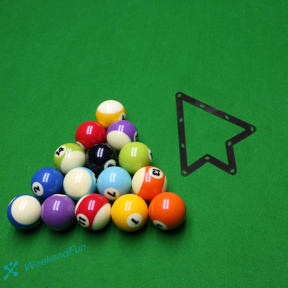 NewShot 6-pcs Magic Rack Sheet for 8//9//10 Ball Billiards