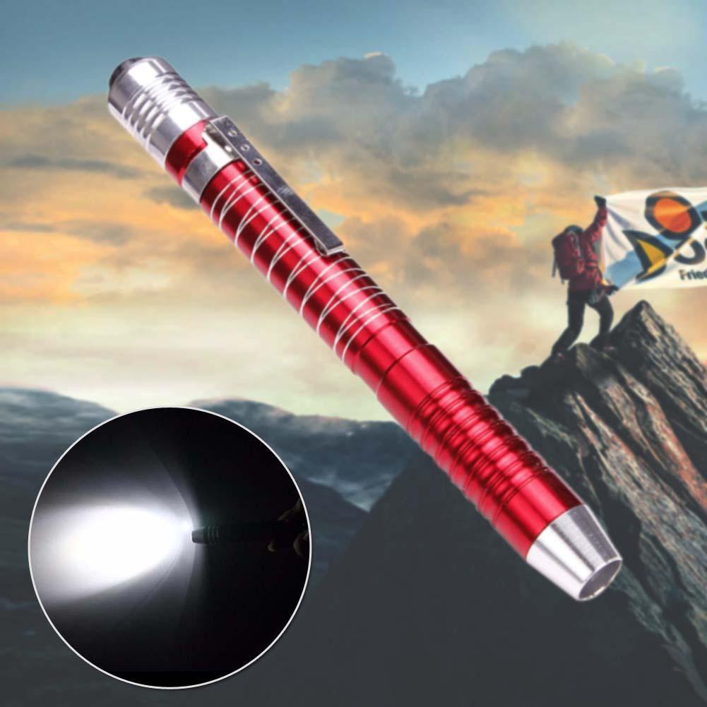 Lanterna Led Cree XPE-R3 Com Lâmpada De Stylus Caneta Portátil Pequena Lanterna Tocha