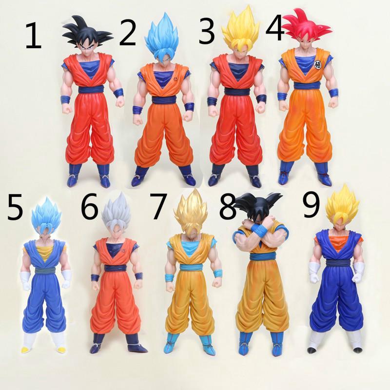 Anime Dragon Ball Z 2 24CM Son Goku Super Saiyan Gokou Genki dama Action Figure