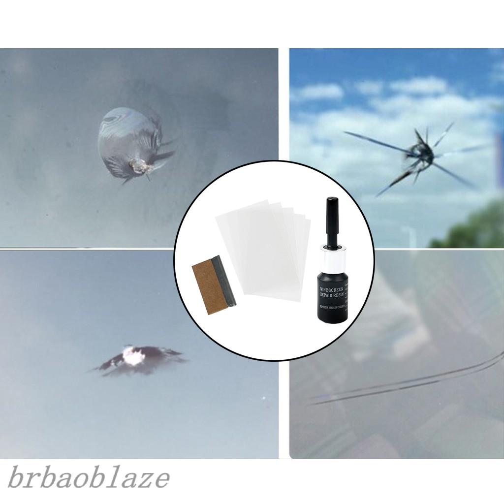 Car Windshield Repair Kit Auto Windscreen Glass Scratch Cracks Removal Tool Shopee Brasil