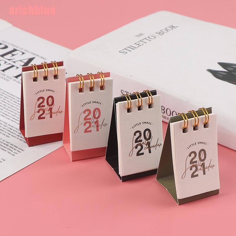 CalendáRio 2021 Criativo A Arichblue Calendário 2021 De Mesa Criativo Pequeno Simples Mini
