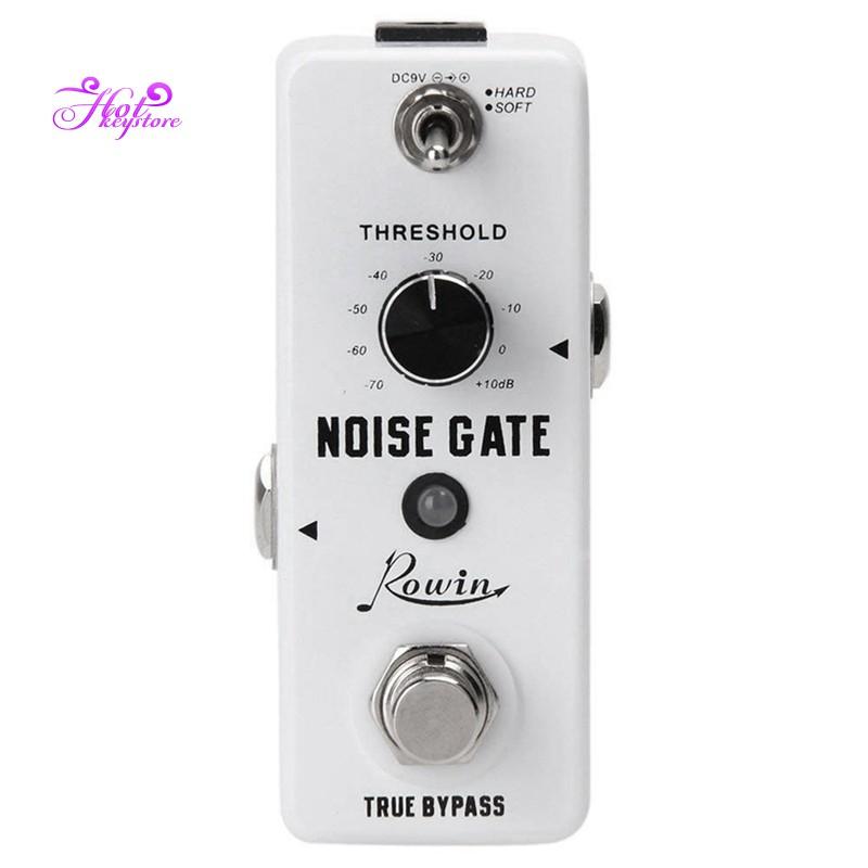 Color : White, Size : Free Size Jajx Guitar Multi Effect Pedal Guitar Noise Killer Guitar Effect Pedal 2 Modes Noise Gate Pedal