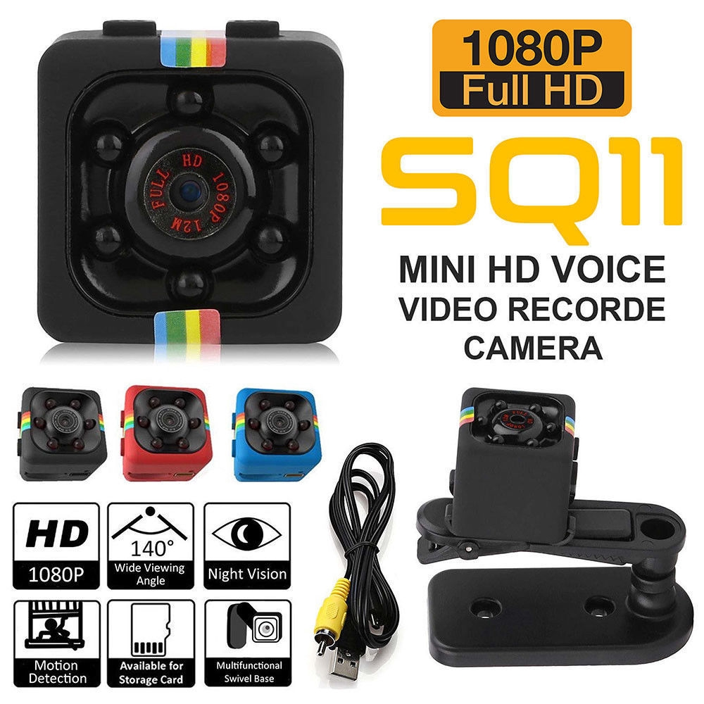 SQ11 FHD 1080P Mini Car Spy Hidden DVR Camera Dash Cam IR Night Vision Motion