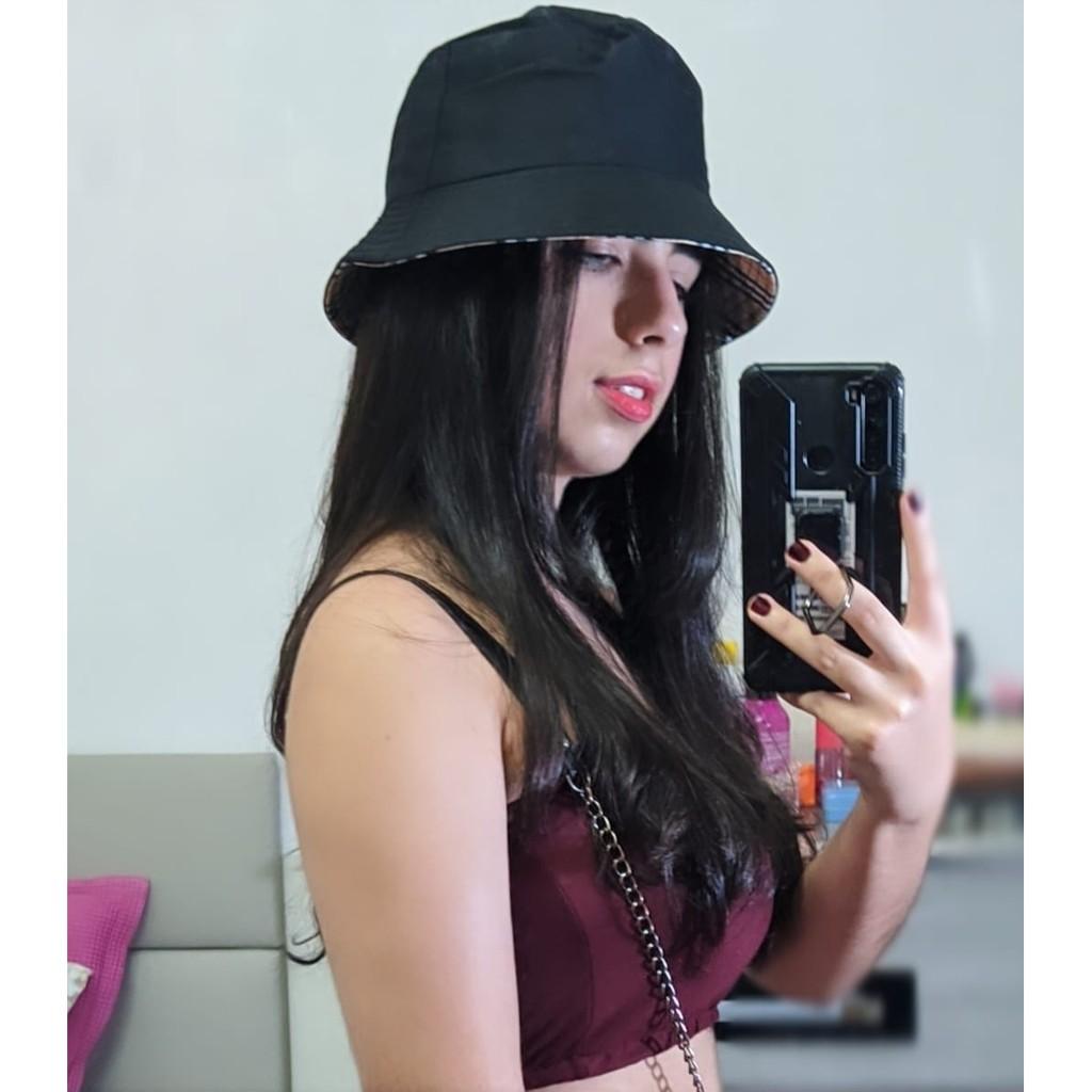 Chapeu Bucket Hat Shopee Brasil