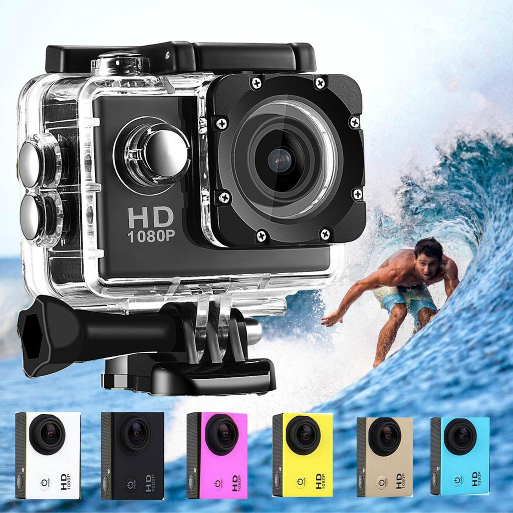 Sport Action Camera Sport DV Camera Waterproof Outdoor Sports Sj4000 Câmera  de ação e esporte | Shopee Brasil