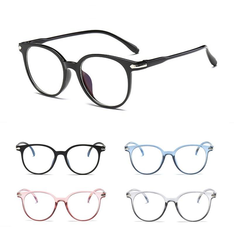 óculos De Armação Redonda Com Lente Transparente Unissex Estilo Vintage Retrô Shopee Brasil
