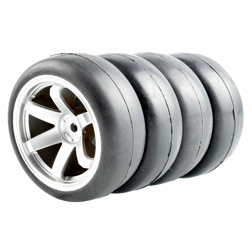 "RC 9003A Plastic1.9/"" Wheel 4Pcs For HSP 1:10 On-Road Drift Car"