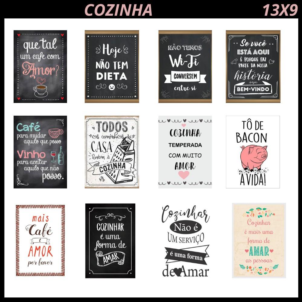 Decoração & Cozinha - Quadros Decorativos Para A Decoração De Casa, Cozinha, Sala! | Shopee Brasil