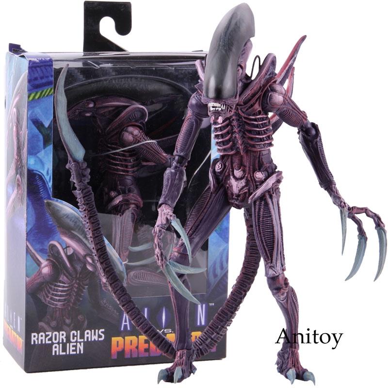 Boneco Alien Cosplay PIKACHU Aliens VS Predator Pvc Modelo Brinquedo Na Caixa