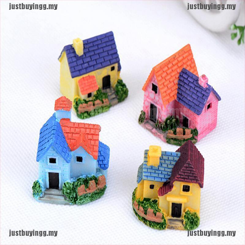 Fadas Da Floresta Em Miniatura Casa De Boneca arte Foto