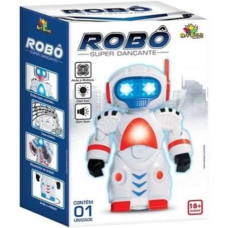 Brinquedo Robô Super Dançante Luz e Som | Shopee Brasil
