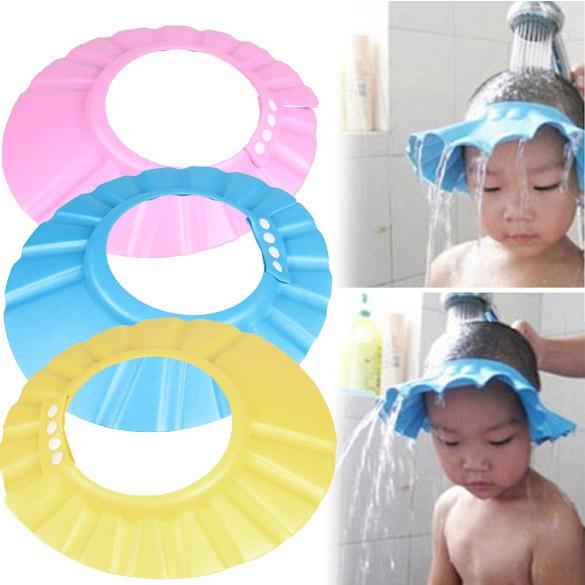 Lindo Protetor para Banho Lavar Cabelos Xampu Escudo Infantil ...