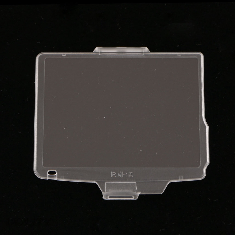 Plastic Hard LCD Cover Screen Protector For Nikon D90 BM-10 Clear
