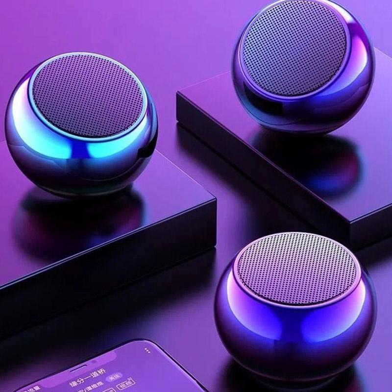Uma super Caixinha Som Bluetooth Tws Metal Mini Speaker Amplificada 3w - AL-2022