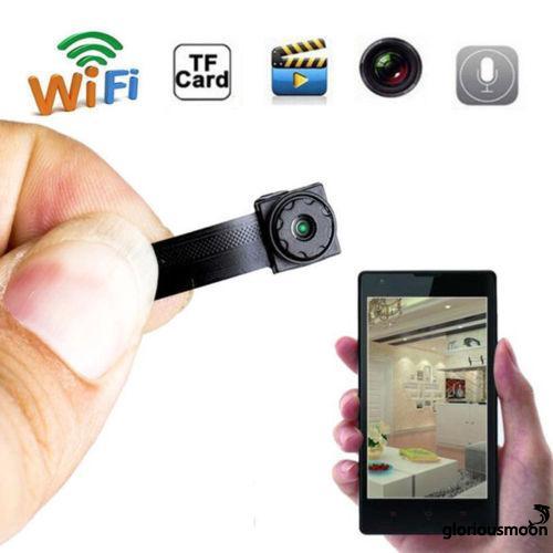 1080P Mini Video Module Wireless Hidden HD Camera WiFi IP Pinhole DIY Spy DVR