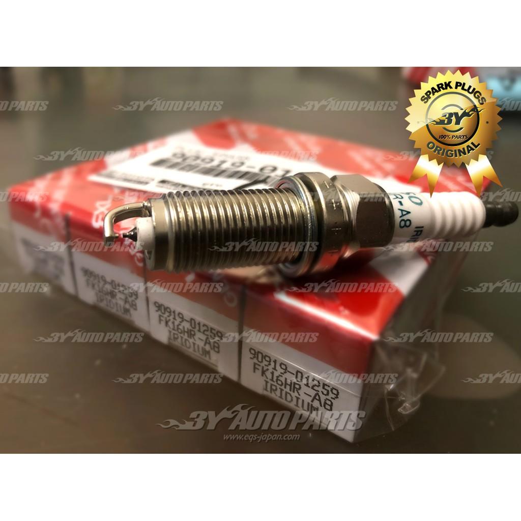 Denso Iridium Longa Vida Spark Plugs fk16hra8 3484 Conjunto De 4